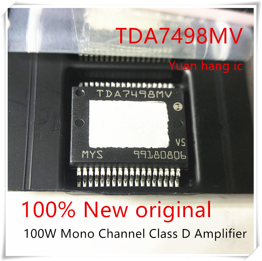 NEW 1PCS/LOT TDA7498MV TDA7498 SSOP-36 100W Mono Channel Class D Amplifier IC