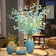 Europe Morden ceramic vase Luxury Chinese arts and crafts  contracted porcelain flower creative wedding gifts home decor