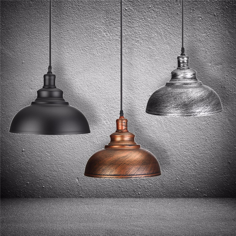 Vintage Pendant Lights Retro Industrial Hanging Chandelier Loft Pendant LightS E27 Dining Restaurant Room Lamp