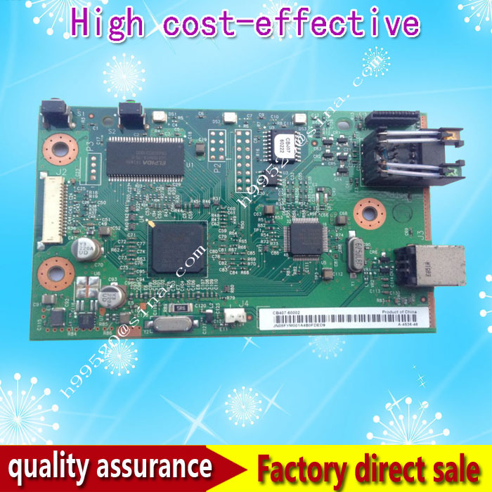 Formatter Board For HP 1022N Q3969-60002 CB407-60002 Formatter Pca Assy logic Main Board MainBoard mother board q3969 60002 printer mother board for hp 1022n printer part formatter board quality assured in china supplier page 1 page 3