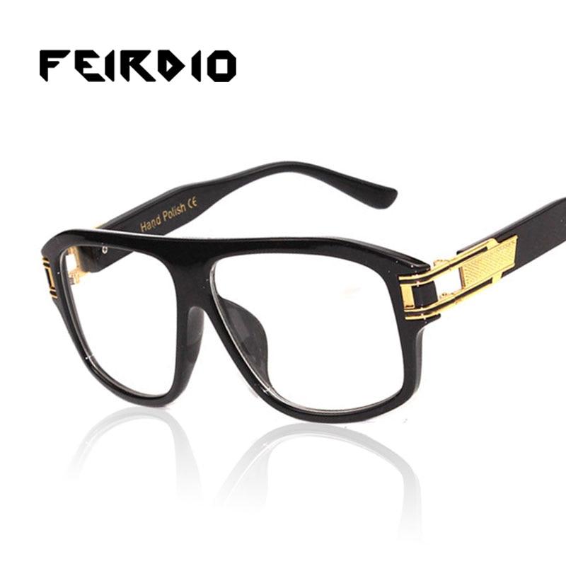 f6f47514f6e1 Feirdio Newest Woman Male Sun Glass Metal Frame Sports Goggles Retro Club  Oculos Gafas De Sol Resin Anti Glare Driver Safety-in Sunglasses from  Apparel ...