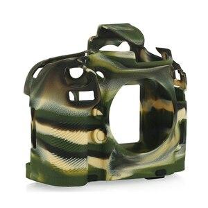 Image 4 - Top Texture Design Rubber Silicon Case Body Cover Protector Soft Frame Skin for Nikon D800 D800E Camera