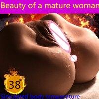 Супер реалистичные умный зрелые Женская Вагина Реальные PussyBig Ass искусственная вагина Анальный Мужской Мастурбаторы эротический Вибратор к