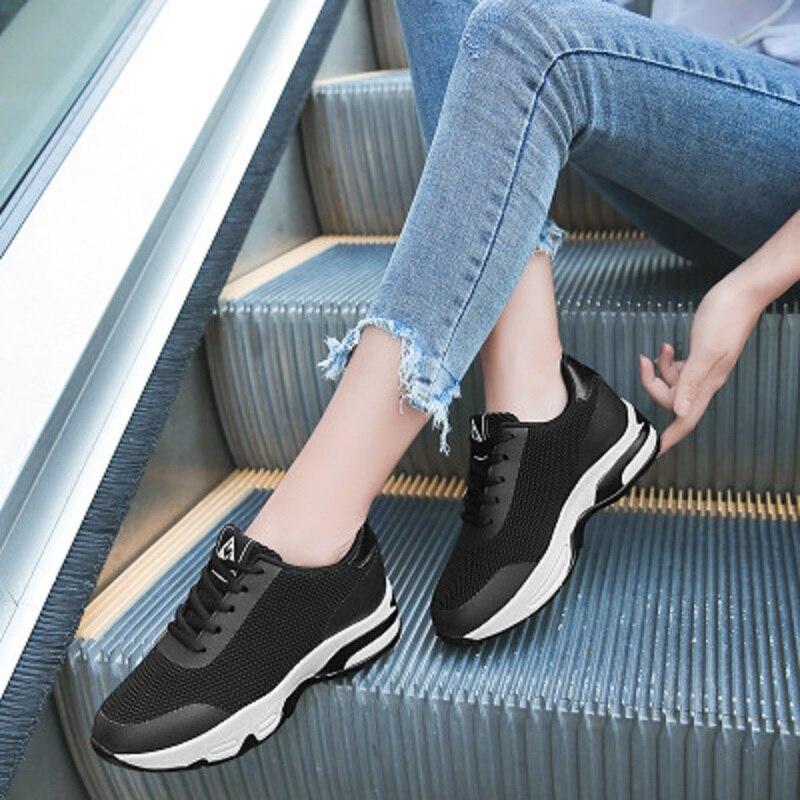 Femmes 1 Plates Nouveau Respirant Confortables 2 Chaussures Été Casual 3 De fF4wSwq