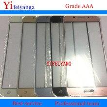 10 stücke OEM EINE qualität Touch Screen LCD Vordere Äußere Glas Objektiv Für Samsung Galaxy J3 J5 J7 2017 Pro j330 J530 J730 panel