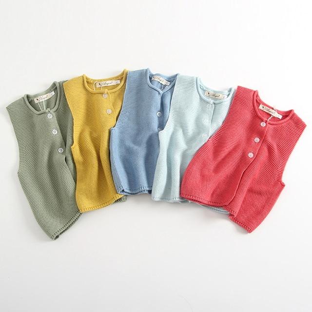 5ce39e80f080 1 3Yrs Fashion Kids Children s Vest Girls Boys Hooded Knitted Baby ...