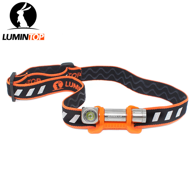 LUMINTOP Headlamp  HLAAA 2.0  Mini Torch  IPX-7 Waterproof Magnetic Tail Clip  Aluminum Alloy Powered by AAA Battery