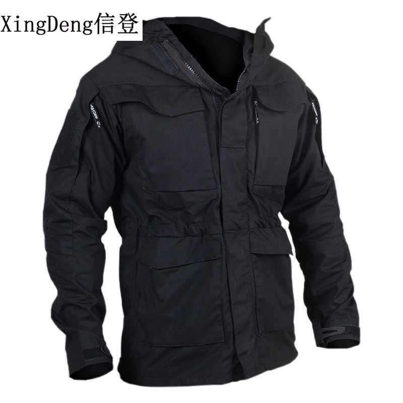 XingDeng Casual Tactical Windjack Mannen Winter Herfst Waterdichte Jas Leger Vlucht Pilot top Jas Militaire mode Kleding