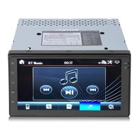7 Inch Double DIN Quad Core 3G Car HD H.265 2160p video decoding Radio Stereo Player MP5 WIFI GPS Navigation