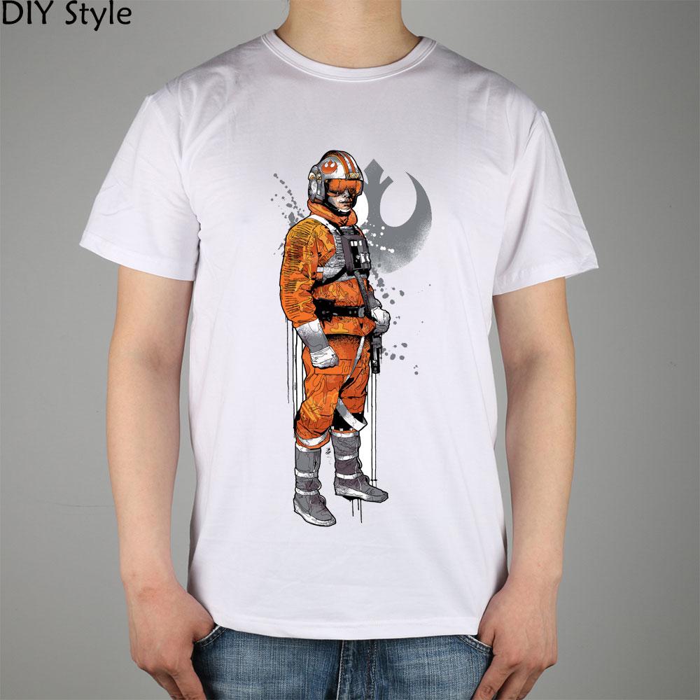 Maglietta della manica corta degli uomini di REPUBLIC STAR WARS nuova - Abbigliamento da uomo