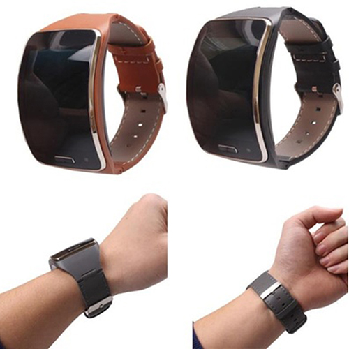 2019 NEW Genuine Leather Watch Wrist Strap Band For Samsung Gear S SM-R750 Smart High Quality Best Gift