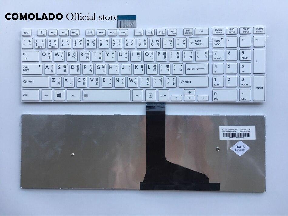 TI Thaïlande Clavier pour TOSHIBA L50 L50-A C50 C50D C50-A C55D S55D-A S55DT-A blanc clavier TI Mise En Page