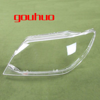 For MITSUBISHI Outlander 04 06 Headlight Cover Lamp Shade Headlights Shell Lampshade Headlamp Glass Headlight Lens