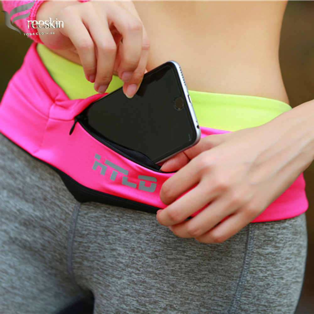 Lady Men Running Phone Bag Pouch Jogging Belt Race Marathon Cycling Waist Belly Bag Bumbag Waistbag Wallet Gym Sport Accessories 54