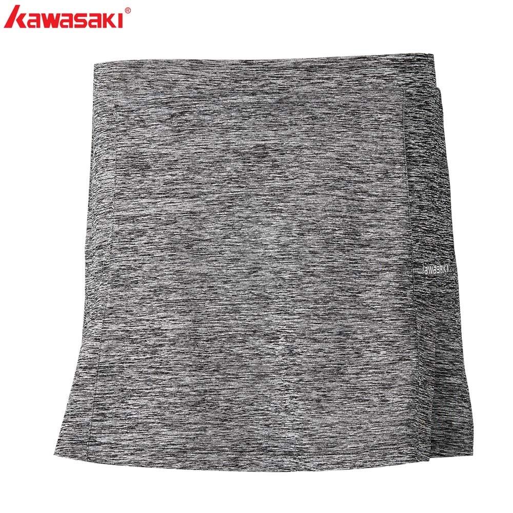 KAWASAKI Brand SK-S2751 Gray Pleated Tennis Skort Quick Dry Yoga Jogging Badminton Skirt Women Sports Clothing Sportswear