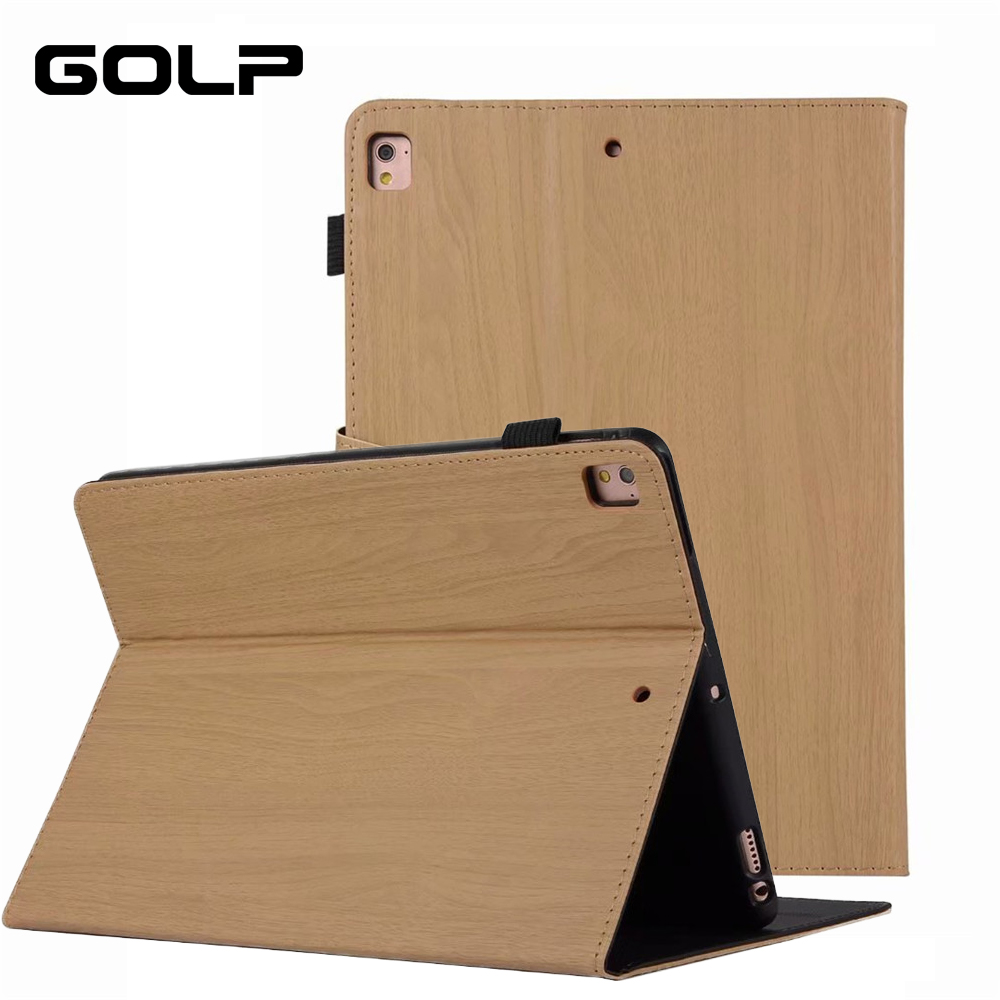For iPad Air 2 1 Case 9.7 inch 2018 2017 GOLP PU Leather Smart Cover for iPad 2018 5th 6th generation Case