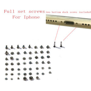 Complete-Kit Screws 8-8p-X-Mobile-Accessories iPhone 6 with 2-Bottom Dock-Screw-Replacement