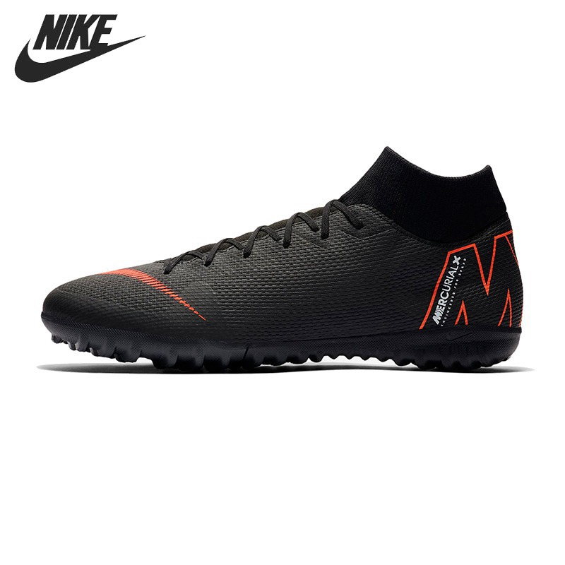 Original New Arrival 2018 NIKE SUPERFLY 6 ACADEMY TF Men's Football Shoes Soccer Shoes Sneakers dr eagle original superfly football boots man football shoes with ankle soccer boots footbal shoes sock size 38 45 sneakers