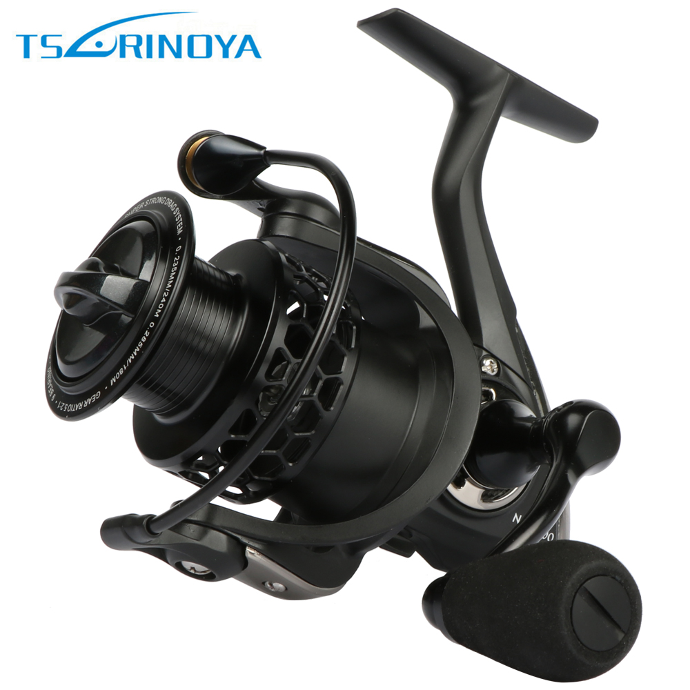 цена на Tsurinoya Spinning Fishing Reel 9BB 5.2:1 Carp Fishing Reel for Freshwater Saltwater Fishing 2000 3000 4000 5000