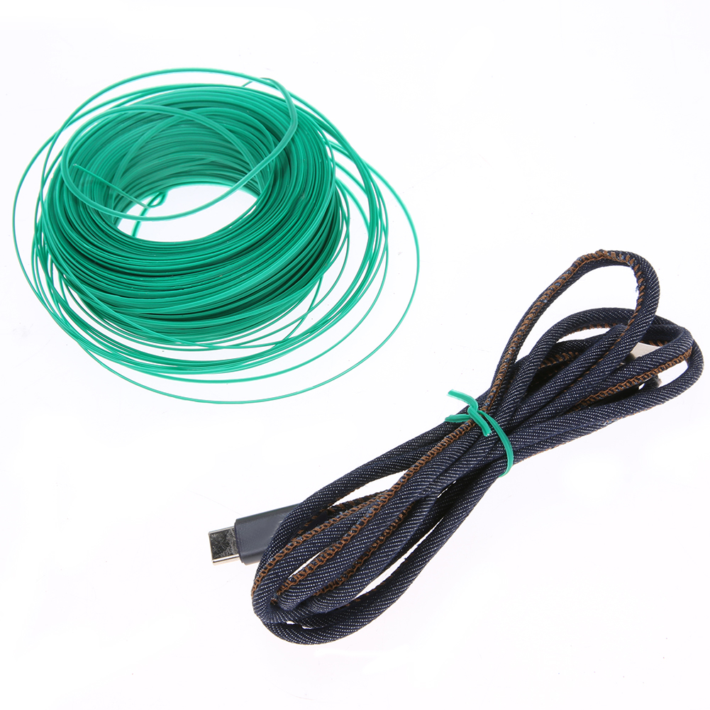 50m Plastic Wire Twist Ties Garden Plant Cable Ties Cutter Tool ...