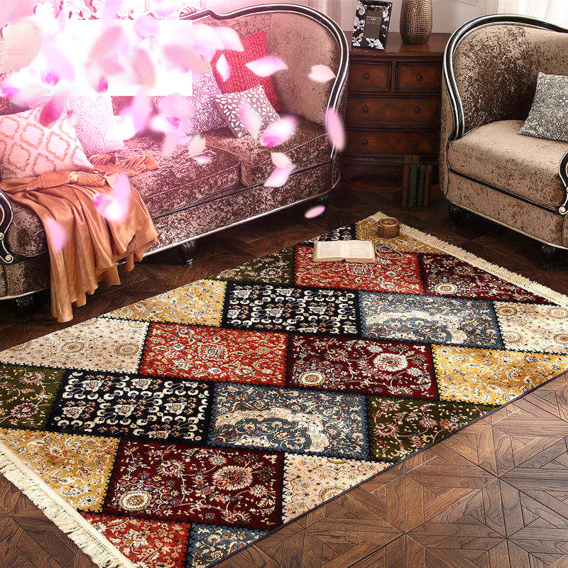 200X290cm Nordic American Persian Carpet For Living Room Home Fashion Carpet And Rug Coffee Table Sofa Bedroom Bedside Rug