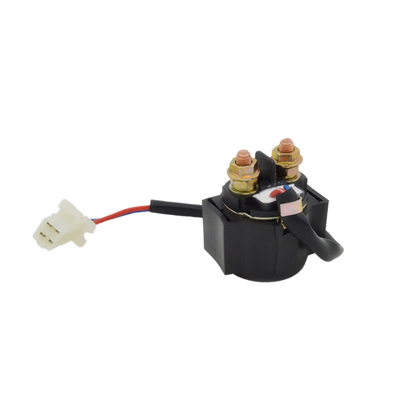 Motorcycle Starter Solenoid Relay 2 Pin 12V For Yamaha SNOSCOOT SV80 SV125 SR185 SRX250 TIMBERWOLF 2WD 4WD YFB250 TW200 TTR225