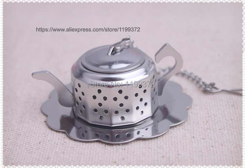 100pcs free ship tea tool wedding favor gift and giveaways for guest--Tea for Two Teapot Tea Infuser Favours party souvenir