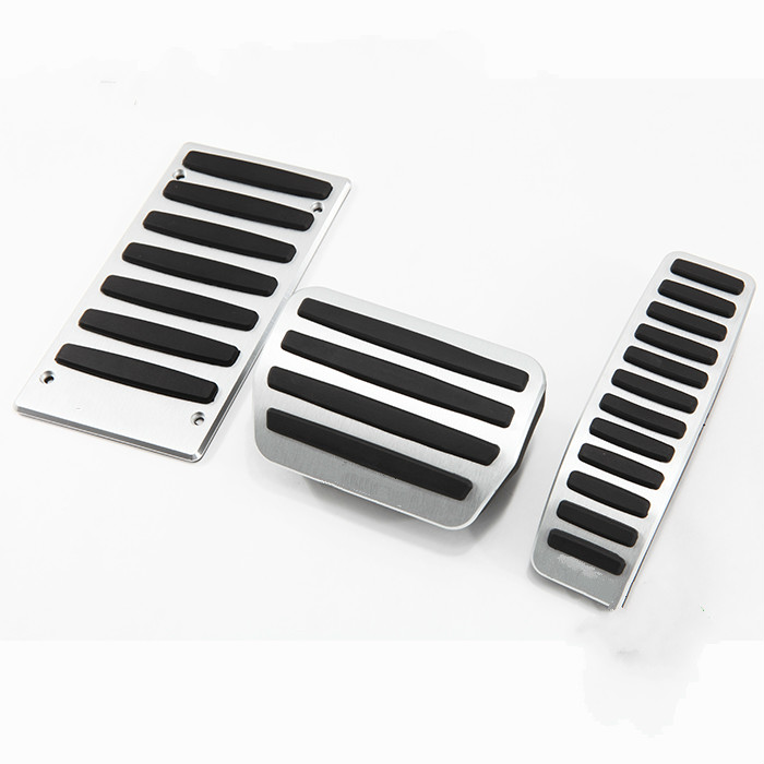 Car Foot Pad Gas and Brake Pedal For Porsche Cayenne/Volkswagen Touareg/Audi Q7 Auto With No drilling! Aluminum Alloy!