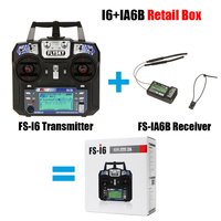 Most Poupular Flysky FS I6 With FS IA6B Receiver 2 4G 6ch Transitter Controller For RC