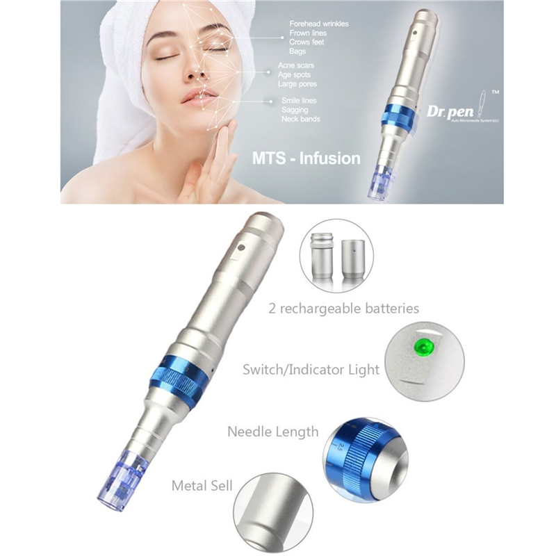 Rechargeable Nano Chip Therapy System Electric Pen For Acne Scarring Scars Wrinkles NewRechargeable Nano Chip Therapy System Electric Pen For Acne Scarring Scars Wrinkles New