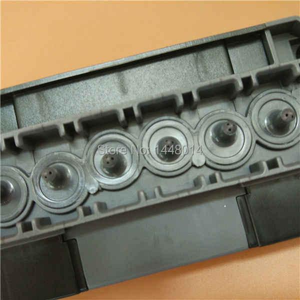 Kualitas Baik DX5 Eco Solvent Kepala Sarung/Printhead Manifold/Adaptor/Tutup untuk DX5 Kepala Sarung
