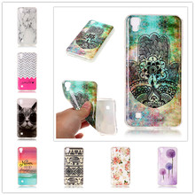 Silicone Case For LG X Power K210 K220 K220ds Cute Cover Cartoon Cat Soft Plastic TPU Phone Protective Bags For LG X Power