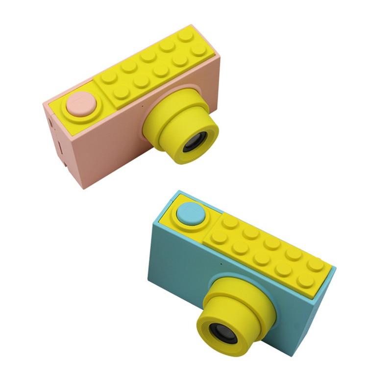 Enfants Mini appareil photo numérique jouets enfants éducation jouet appareil photo numérique avec couverture étanche autocollants faciles à poser cadeau d'anniversaire - 6