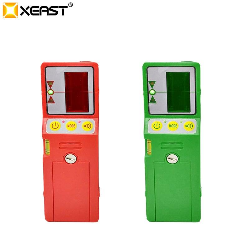 Xeast Outdoor modus laser ebene rot und grün strahl kreuz linie laser empfänger detektor zubehör mit Clamp