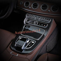 ABS Gear Box Panel Frame Cover Trim For Mercedes Benz E Class W213 2016 2017