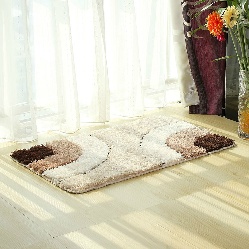 bathroom mats and rugs rectangle bath carpet decoration for bedroom dinning living room kitchen Household Merchandises DW018
