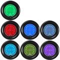"IZTOSS 2"" 7 Colors Blue Red Car Oil Press Gauge 52mm Auto Pressure Meter Digital LED Tint Len Clock"