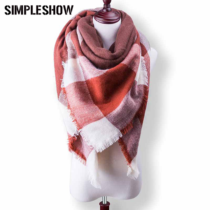 simpleshow fashion wool winter scarf for scarf warm