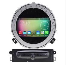Octa Core 1024*600 Android 6.0 de DVD Del Coche Reproductor Multimedia Estéreo Del Coche de Navegación GPS para BMW Mini Cooper Después 2006-2013 de Radio
