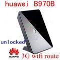 Разблокирована HUAWEI B970 3G wi-fi Маршрутизатор 3 г WI-FI мифи маршрутизатор 3 г dongle HSUPA/HSDPA/WCDMA 900/2100 Мгц пк b970b e5172 b681 b683