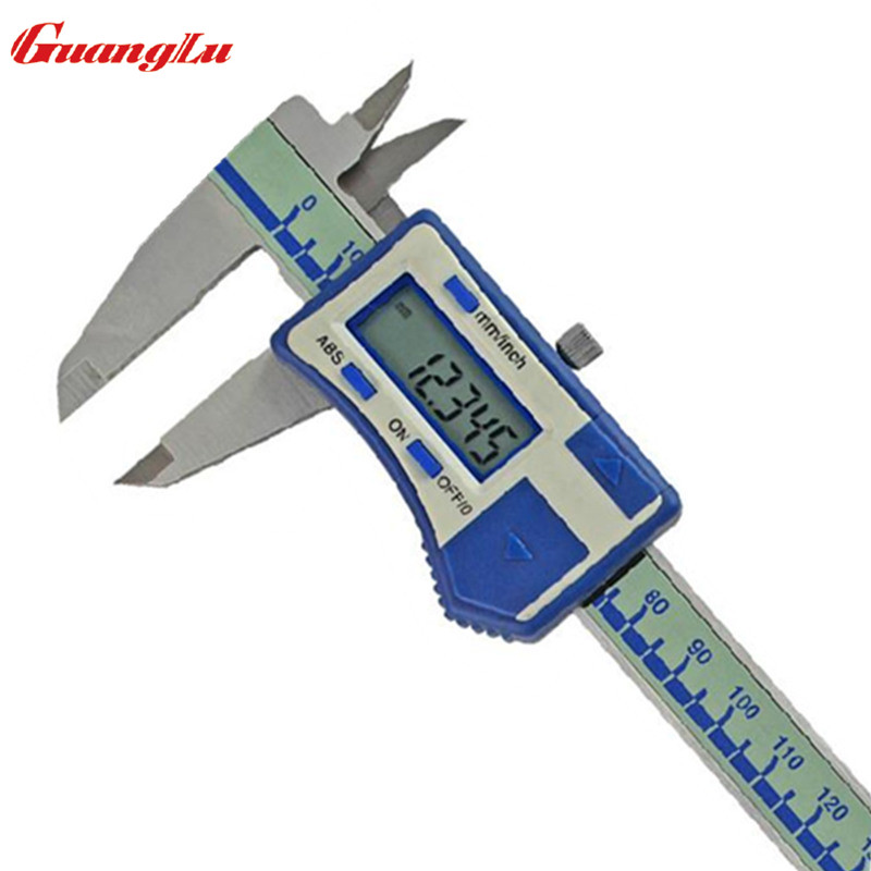 ФОТО GUANGLU High Precision 0.005mm Digital Caliper 6