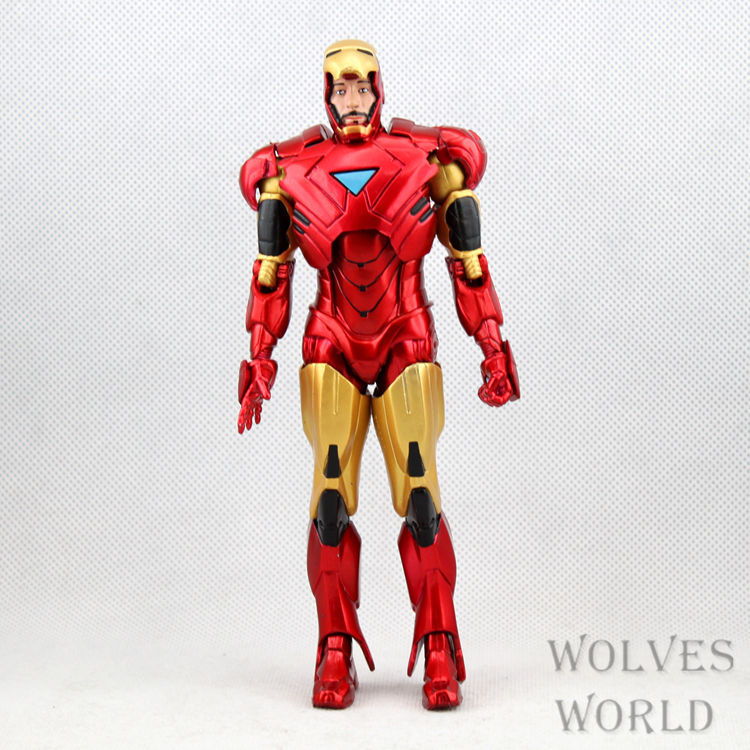 Free Shipping Marvel Iron Man Action Figure Superhero Iron Man Tonny ...