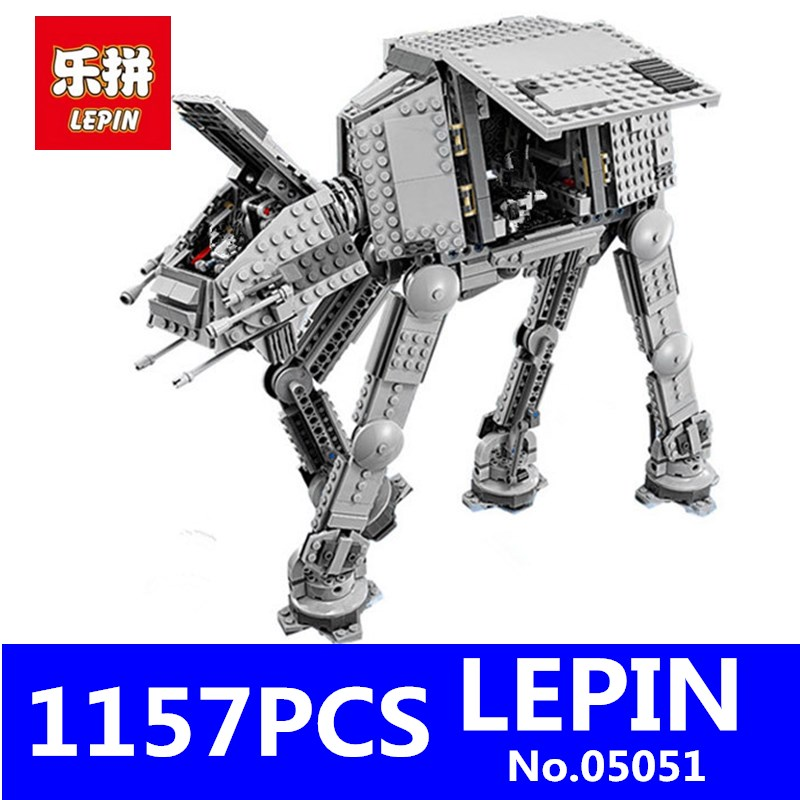 Star Set Wars AT-AT LEPIN 05051 1157Pcs The Force Awakens Model Educational Building Kit Blocks Bricks Compatible Children Toys