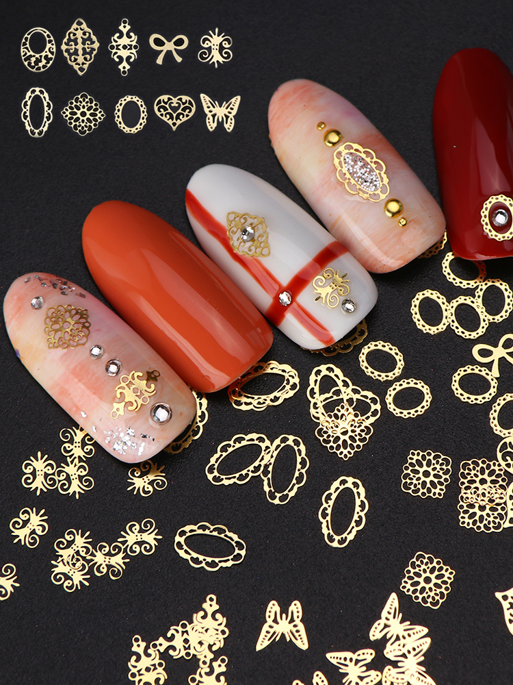 33a14d10b66 top 10 largest nail gold design mix near me and get free shipping ...