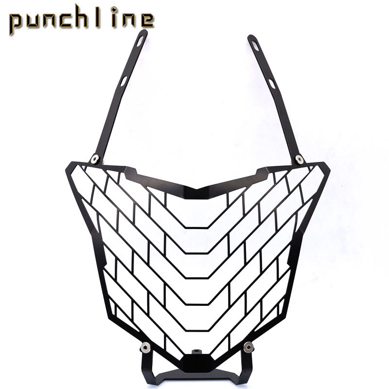 For HONDA CB500X CB 500X 2016-2017 Motorcycle Accessories Headlight Grille Guard Cover for honda cb 500f cb 500x cb 650f 2016 2017 2018 motorcycle cnc fuel gas tank cap cover motorbike accessories