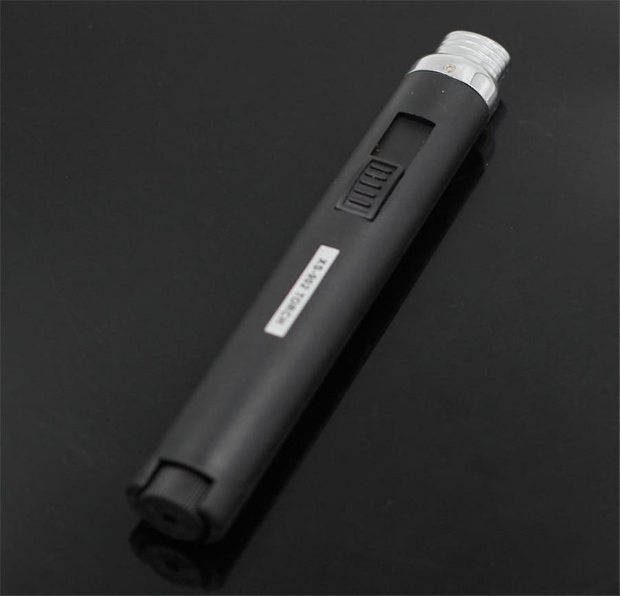 Free Shipping Windshield Pen Welding Torch Outdoor Lighter Jet Flame Butane Gas Refill Lighter Welding Soldering Torch Pen