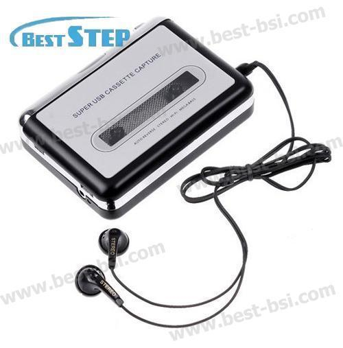 10PCS Tape to PC Portable Radio USB Cassette Recorder Player to MP3 Converter Capture from Reliable cassette capture supplier