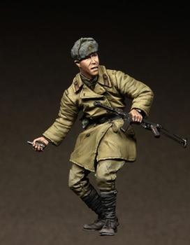 [tuskmodel] 1 35 scale resin model figures kit soviet t3048 1