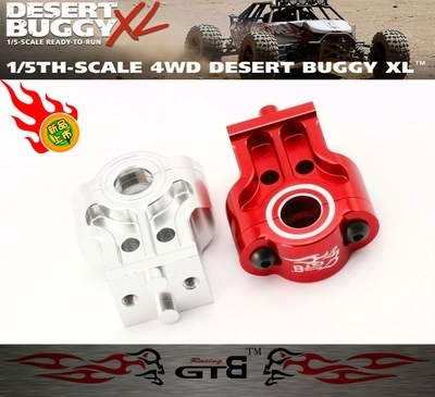 GTBracing FOR LOSI XL Rear Center Drive Shaft Mount XL004 billet rear hub carriers for losi 5ive t