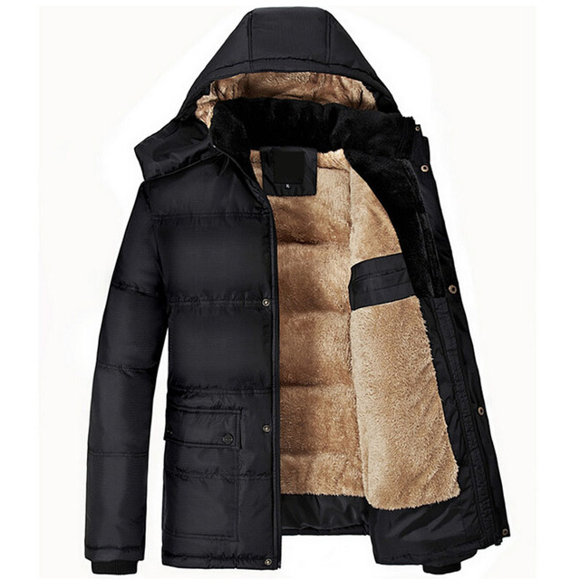 Flash Sale Brand New Winter Jacket Men Thick Warm Solid Cotton Parka Mens Winter Jackets And Coats Plus Size 5XL jaqueta masculino inverno